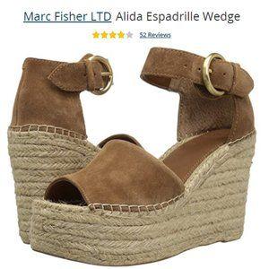 Marc Fischer Alida Espadrille Wedge Sandal